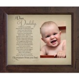 Dear Daddy Photo Frame