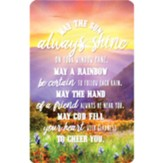 May the Sun Always Shine Pocket Card