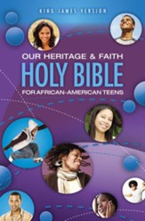 Our Heritage and Faith Holy Bible for African-American Teens, KJV - eBook