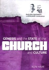 Genesis and the State of the Church  and Culture DVD