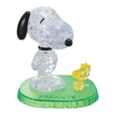 Licensed Snoopy and Woodstock Crystal 3D Puzzle