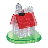 Licensed Snoopy and Doghouse Crystal 3D Puzzle