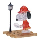 Licensed Snoopy Detective Crystal 3D Puzzle