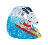 Licensed Snoopy Surfing Crystal 3D Puzzle