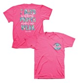 Seven Days Without Prayer Makes One Weak Shirt, Safety Pink, 3X-Large