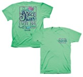 Grace Wins Every Time Shirt, Mint Green, Medium