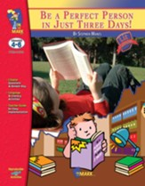 Be a Perfect Person in Just 3 Days Lit Link Grades 4-6 - PDF Download [Download]