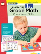 Mastering First Grade Math: Concepts  & Skills Aligned to Common Core (eBook) - PDF Download [Download]