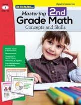 Mastering Second Grade Math:  Concepts & Skills Aligned to Common Core (eBook) - PDF Download [Download]