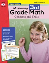 Mastering Third Grade Math: Concepts  & Skills Aligned to Common Core (eBook) - PDF Download [Download]