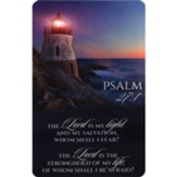The Lord is My Light Pocket Card
