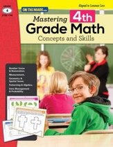 Mastering Fourth Grade Math:  Concepts & Skills Aligned to Common Core (eBook) - PDF Download [Download]