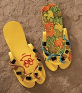 Wilderness Escape: Simple Sandals (pkg. of 10 pairs)