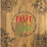 Fruit of the Spirit Wooden Cutting Board