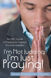 I'm Not Judging; I'm Just Praying!: An ABC Guide in Praying for Today's Christian Leaders - eBook