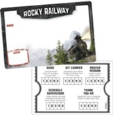 Rocky Railway: Name Badges (pkg. of 10)