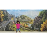 Rocky Railway: Fabric Wall Hanging