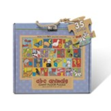 ABC Animals Giant Floor Puzzle, 35 Pieces