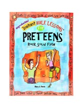 Instant Bible Lessons for Preteens - Rock Solid Faith - PDF Download [Download]