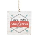 Be Strong And Car Charm