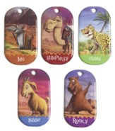 Wilderness Escape: Bible Memory Makers (10 sets of 5)