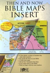 Then and Now Bible Maps Insert - PDF Download [Download]