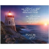 The Lord is My Light Wall Plaque