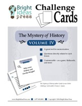 The Mystery of History Volume 4 Challenge Cards - PDF Download [Download]