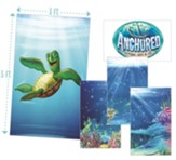 Anchored: Giant Decorating Posters (set of 5, 3 ft. x 5 ft.)