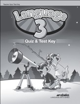 Language 3 Quizzes and Tests Key