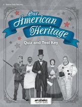Our American Heritage Quizzes & Tests Key