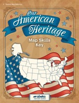 Our American Heritage Maps Key