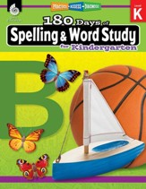 180 Days of Spelling and Word Study for Kindergarten: Practice, Assess, Diagnose - PDF Download [Download]