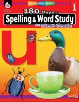 180 Days of Spelling and Word Study for First Grade: Practice, Assess, Diagnose - PDF Download [Download]