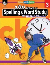 180 Days of Spelling and Word Study for Third Grade: Practice, Assess, Diagnose - PDF Download [Download]