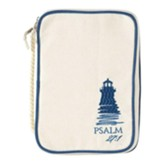 Lighthouse, Psalm 27:1, Large Bible Cover