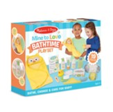 Mine to Love Changing and Bathtime Playset