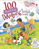 100 Devotions, 100 Bible Songs--Book and CDs