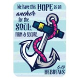 We Have This Hope as an Anchor Metal Bookmark