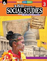 180 Days of Social Studies for Third Grade: Practice, Assess, Diagnose - PDF Download [Download]