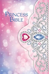 ICB Princess Bible-Tiara, Hardcover