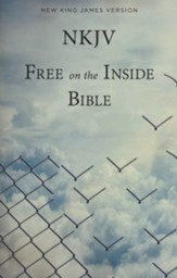 NKJV Free on the Inside Prison  Bible, Softcover