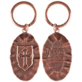 Full Armor of God Keyring, Antique Copper