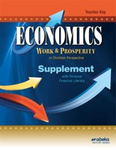 Economics (Grade 12) Supplement  Teacher Key