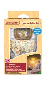 Calico Critters, Light & Curtain Set