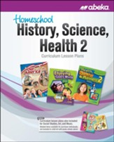 Homeschool History, Science, Health  2 Curriculum Lesson Plans