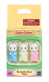 Calico Critters, Marshmallow Mouse Triplets