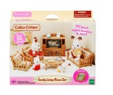 Calico Critters, Comfy Living Room Set