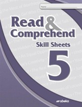 Read and Comprehend 5 Skill Sheets  (Unbound Edition)