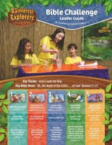 Rainforest Explorers: Bible Challenger Leader Guide